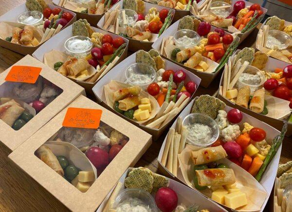 lunch box les Saisons de Marie Traiteur Sart Tilman