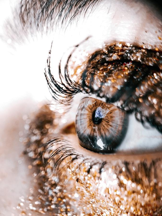 Glitter Make-up Looks