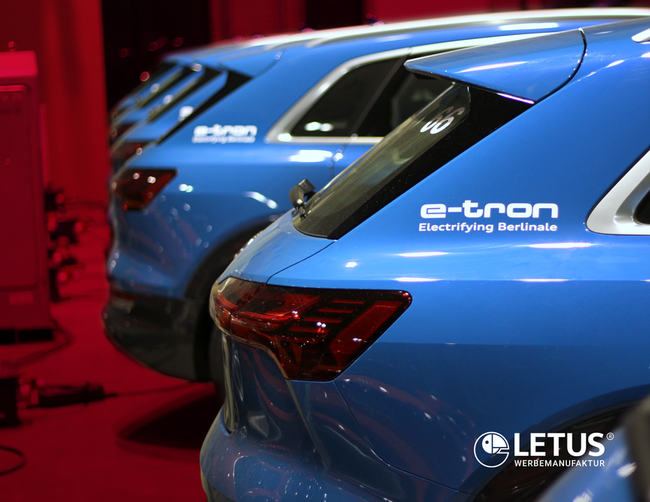 Fahrzeugflotten-Design für Audi e-tron