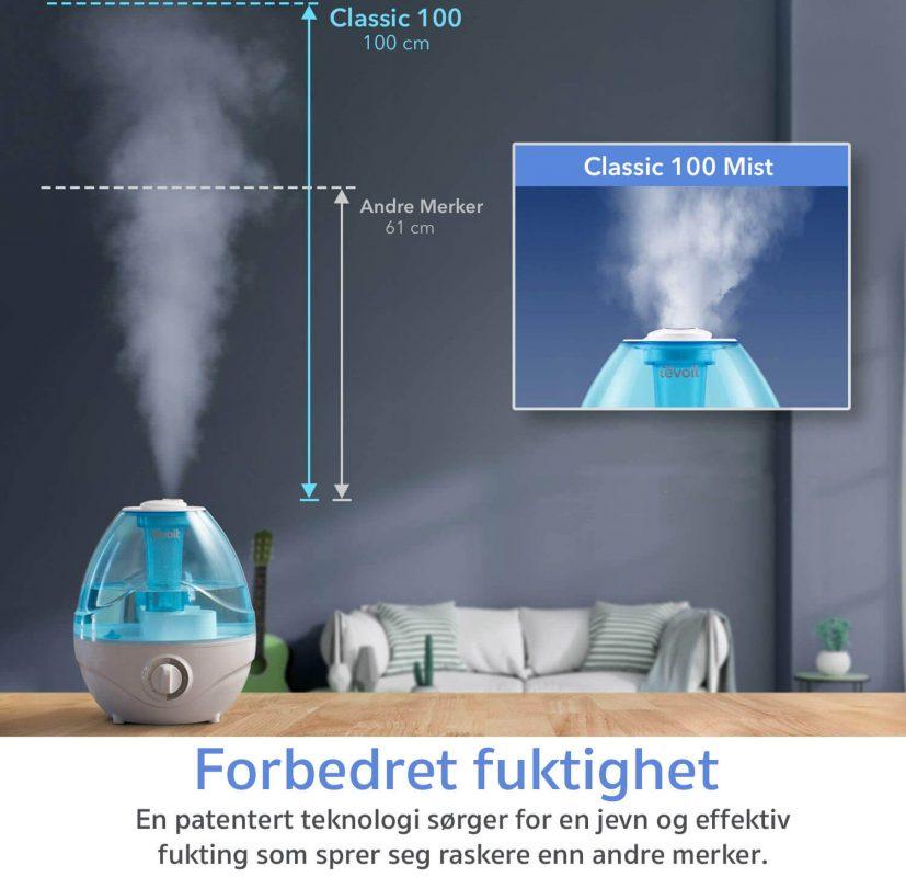 fuktighet levoit luftfukter