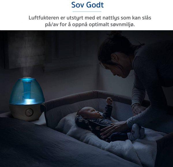 luftfukter søvn levoit