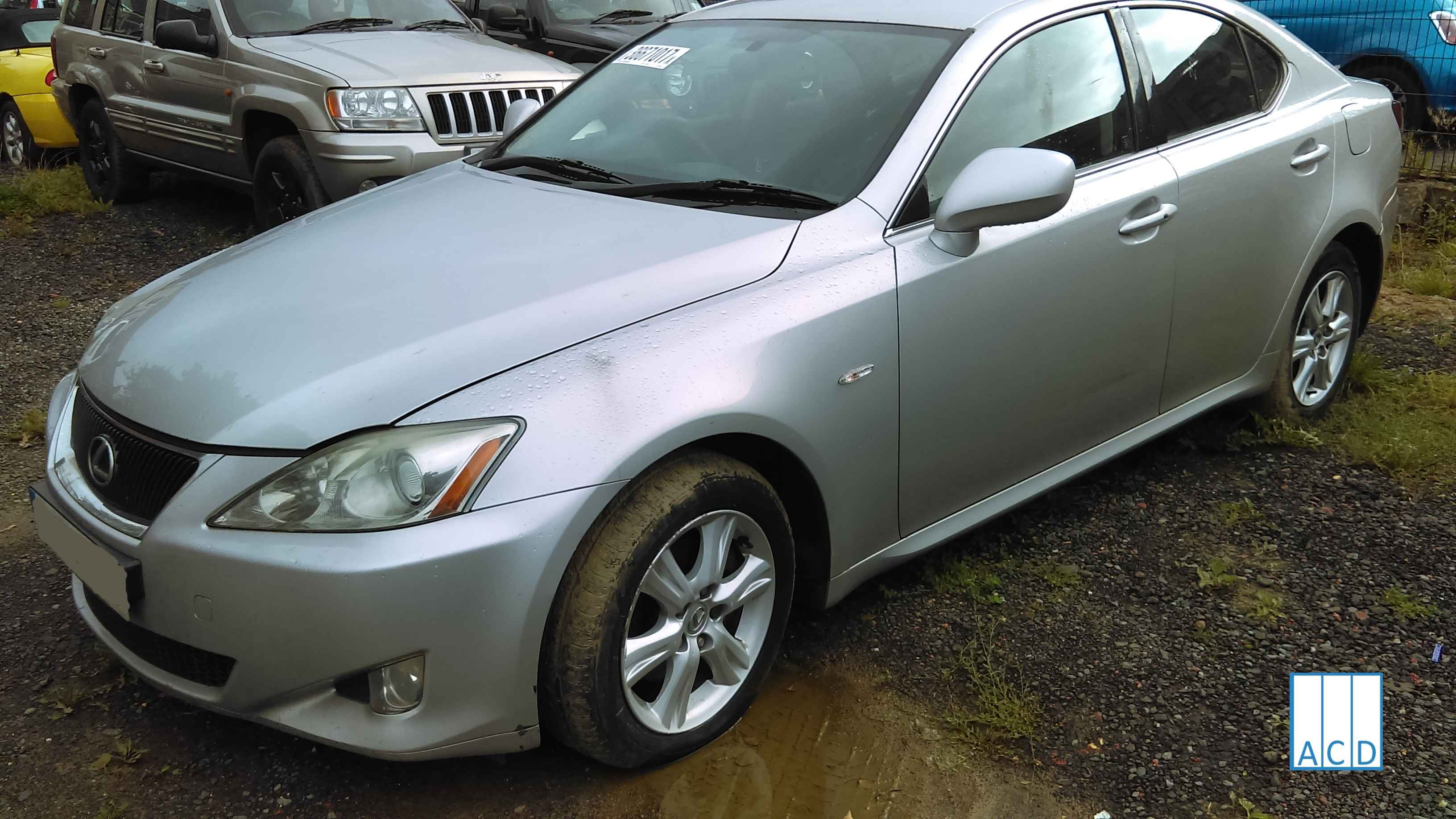 Lexus IS 220D 2.2L Diesel 6-speed manual 2007