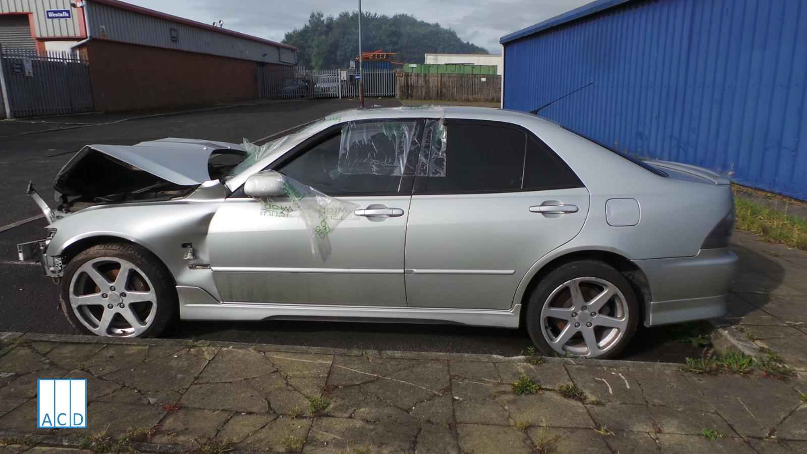 Lexus IS200SE 2.0L Petrol 6-Speed Manual 2005 #2224 01 front damage