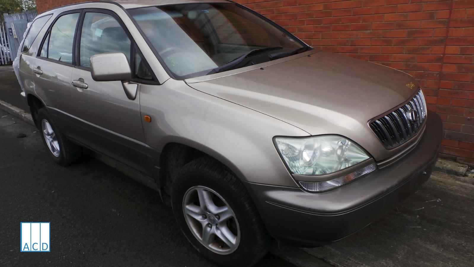 Lexus used parts RX300SE 3.0L Petrol automatic 2002