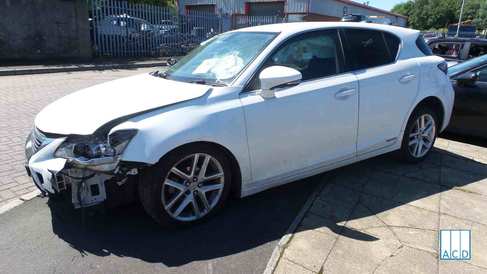 Lexus CT 200H used spares