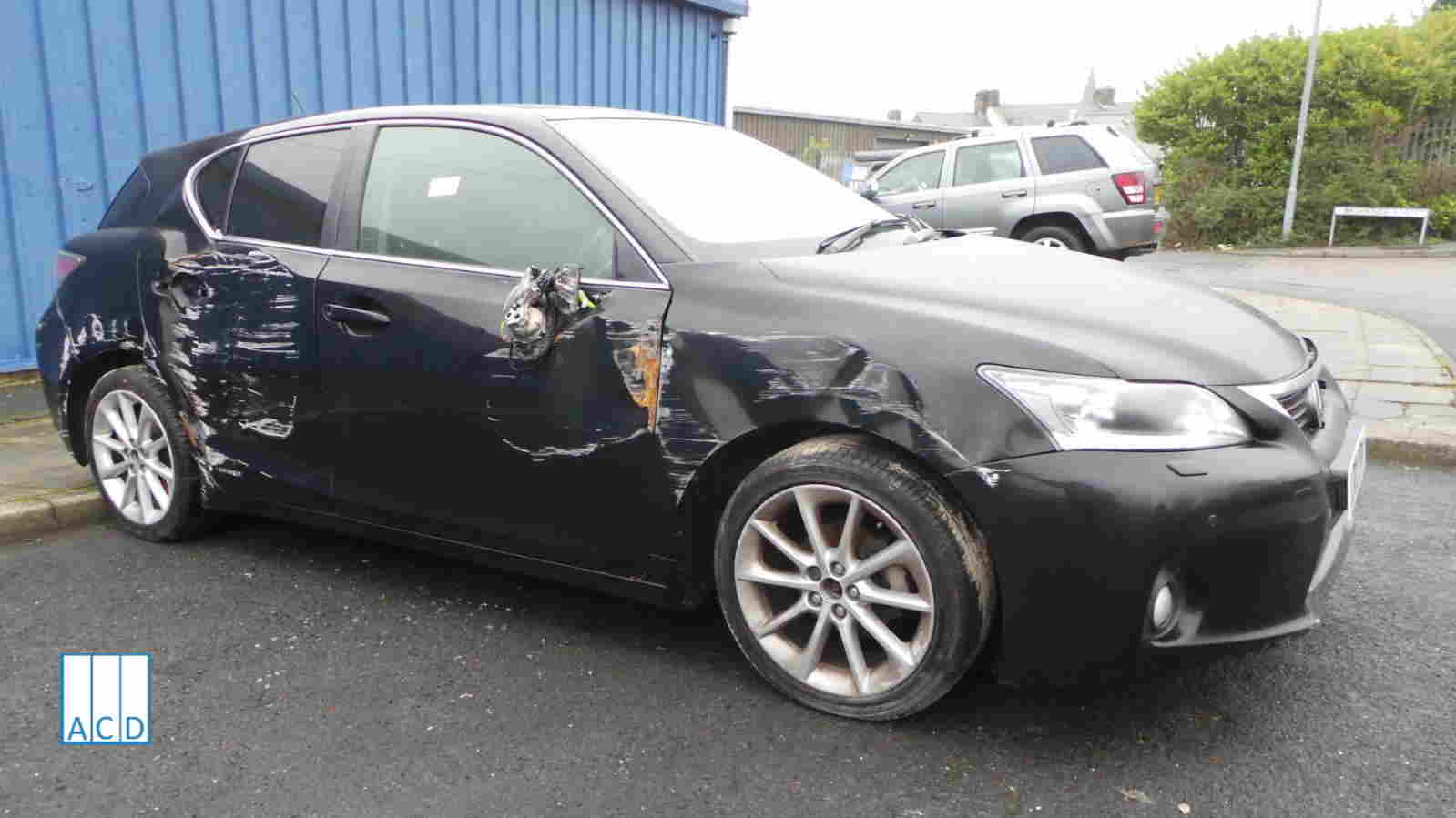 Lexus CT 200H 1.8L Petrol 1-Speed Automatic 2012 #3063 01