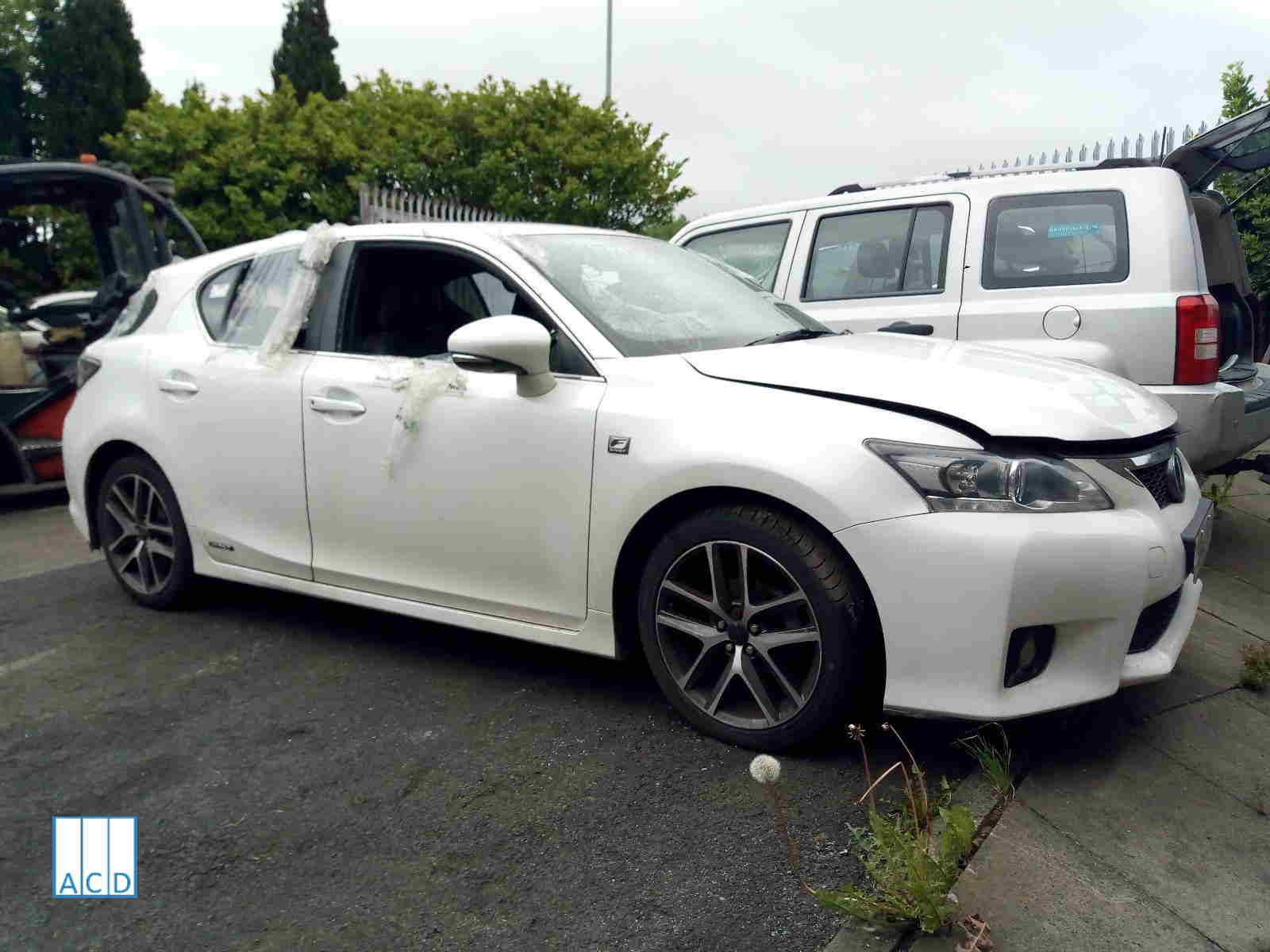 Lexus CT 200H 1.8L Petrol 1-Speed Automatic 2012 #3156 01