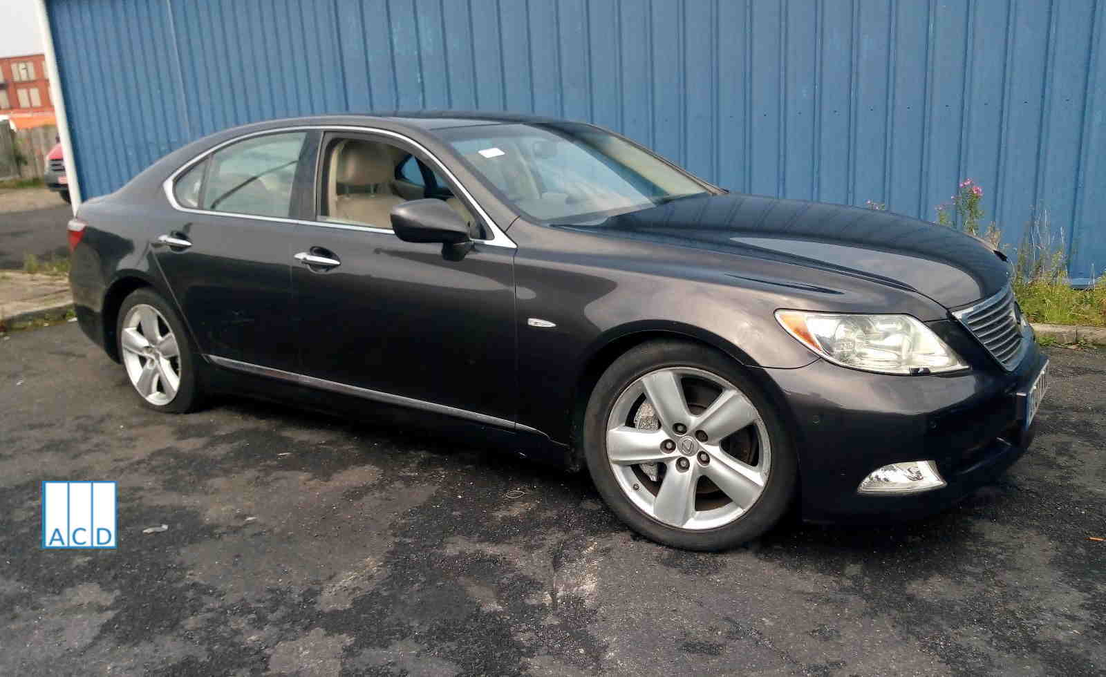 Lexus LS460 used parts