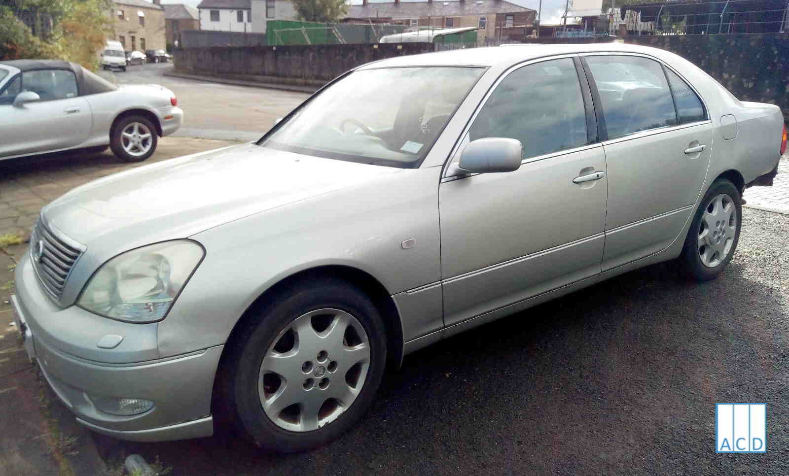 Lexus LS430 4.3L Petrol 5-Speed Automatic 2001 #3223 01
