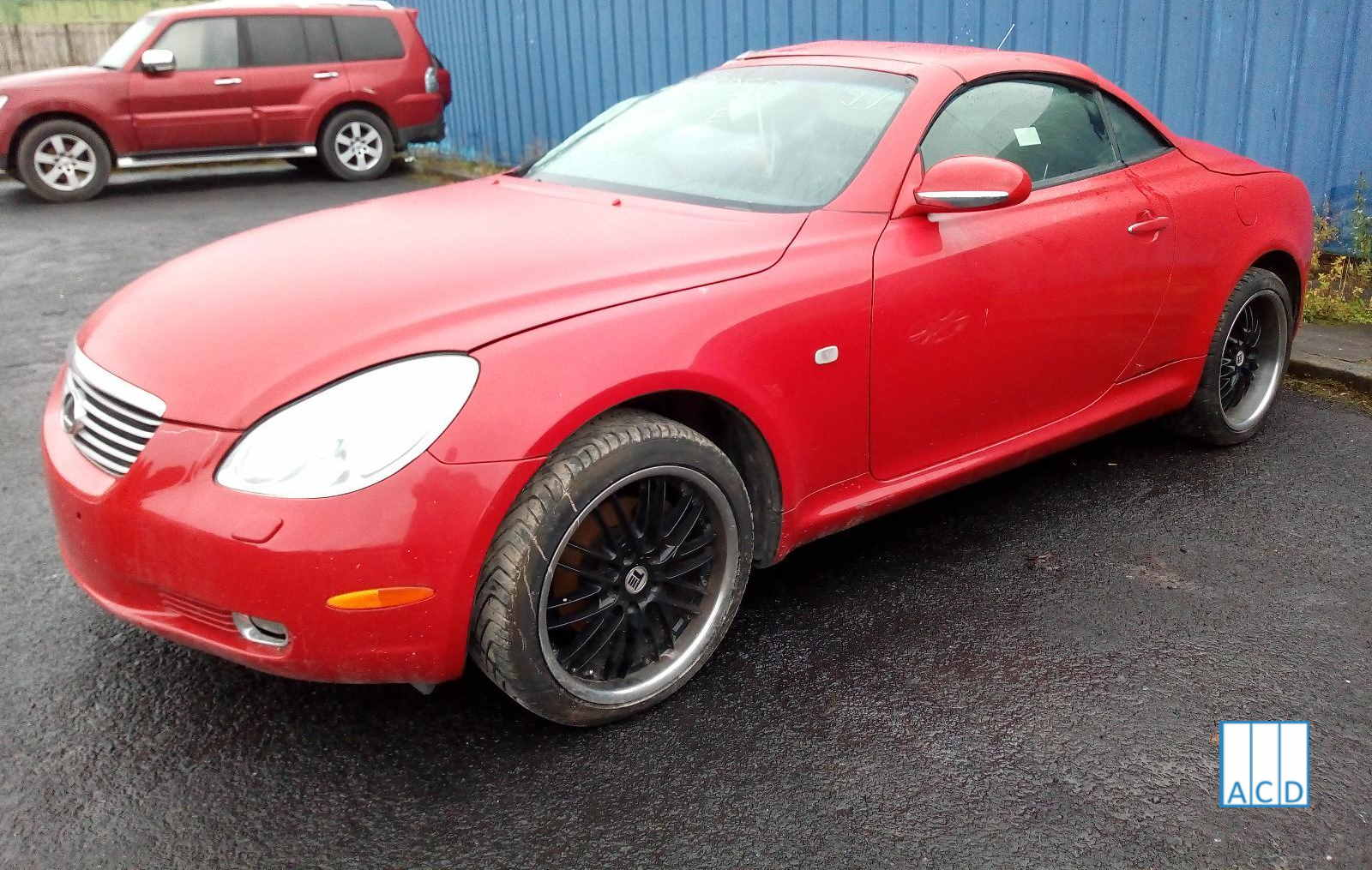 Lexus SC430 4.3L Petrol 5-speed automatic 2001 #3246 01
