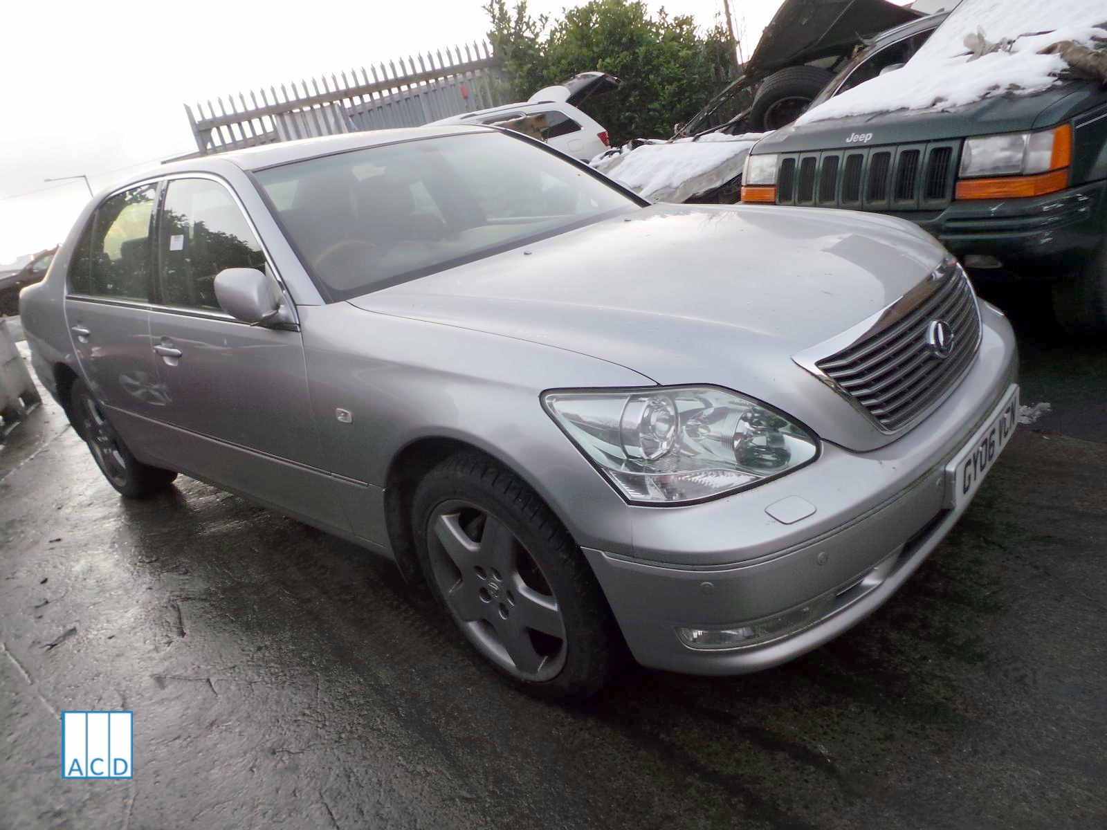 Lexus LS430 4.3L Petrol 5-Speed Automatic 2006 #3288 01