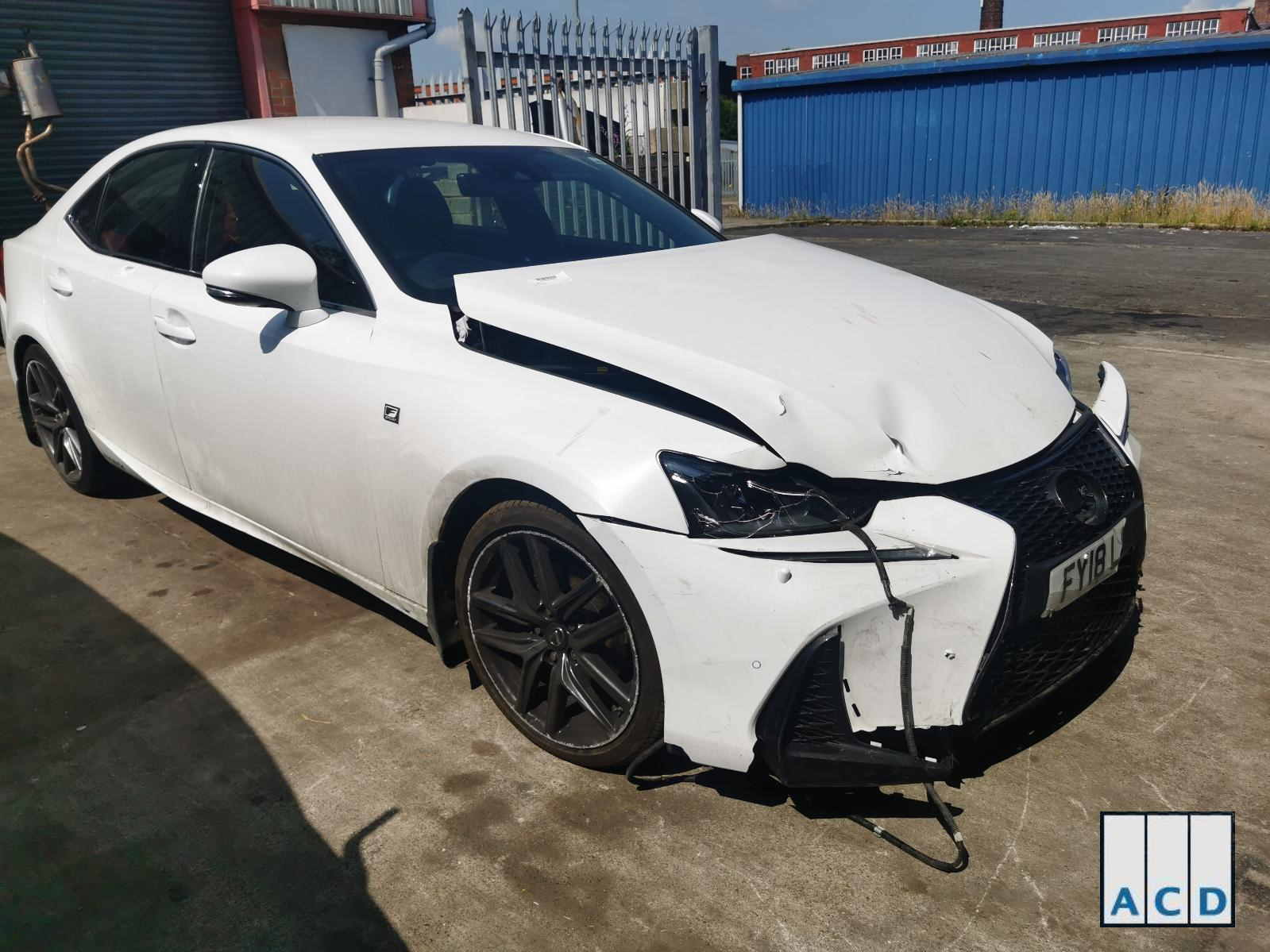 2018 Lexus IS300H 2.5 Petrol Automatic F Sport Stock Number 3472