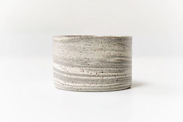 gemarmerd grijs/wit