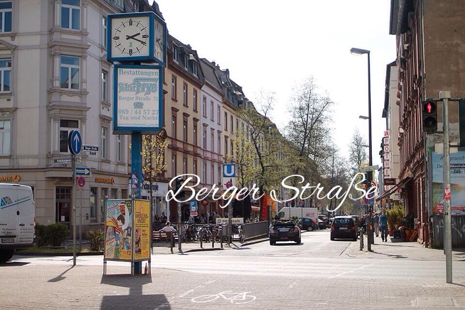 Es ist Frühling! Ein Samstagmittag in Frankfurt