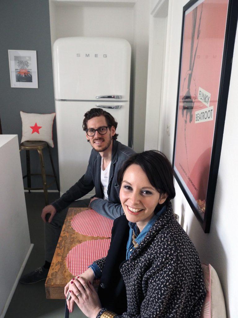 """Ihre kleine Sitzgelegenheit in der Küche haben Freunde des Paares schon """"Tapas-Bar"""" getauft. Foto: Marasco-Albry"""