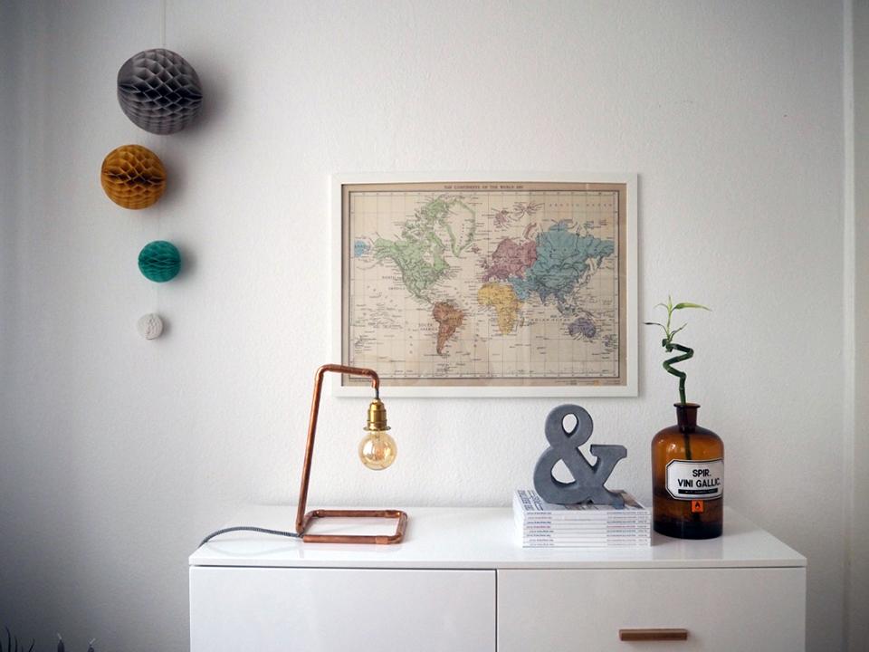 DIY Lampe aus Kupferrohren-4