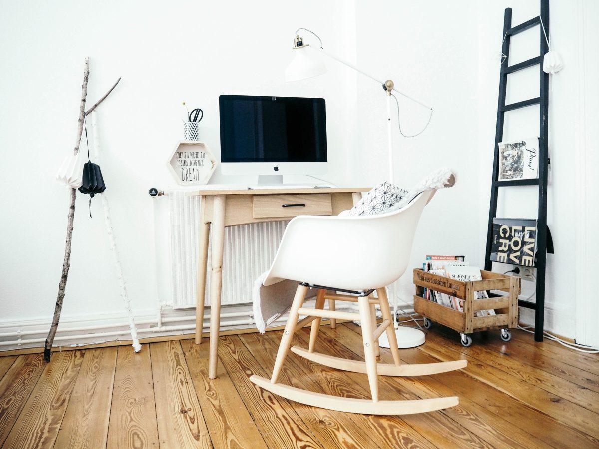 Schreibtisch Inspiration Schreibtisch im Wohnzimmer Lieblings Blog
