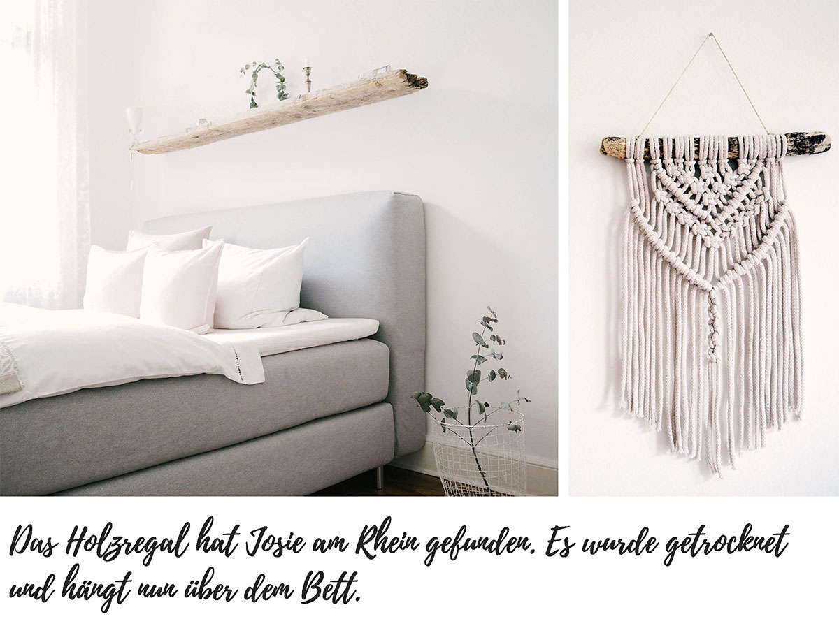 Upcycling Idee Regal aus Treibholz Lieblings Blog Wiesbaden Dosieloves