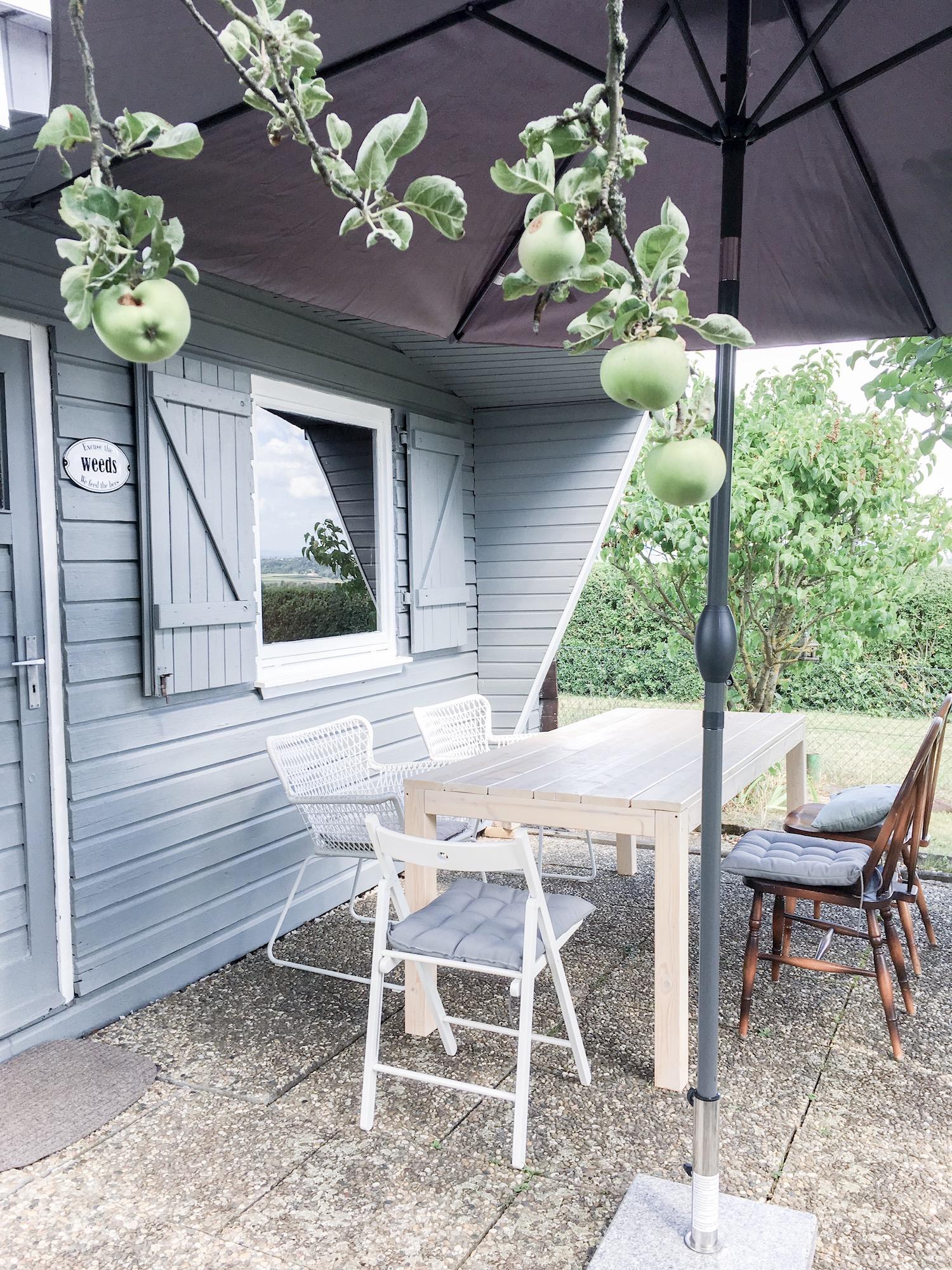 Gartenlaube Emaille Schild Ramsign Foto-Lieblings Blog