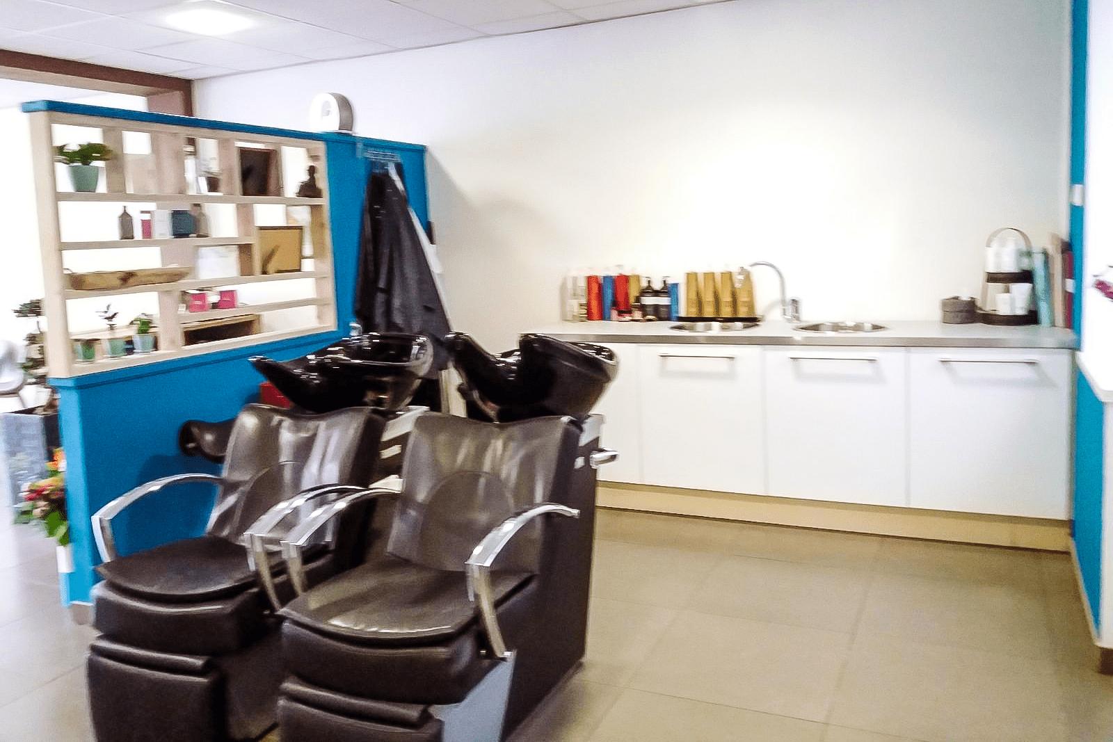Overzicht van de salon bij Lieke Kapper, de gezelligste kapper van Tilburg