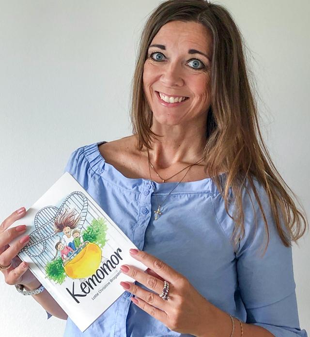 Lotte Brogaard har skrevet bogen Kemomor