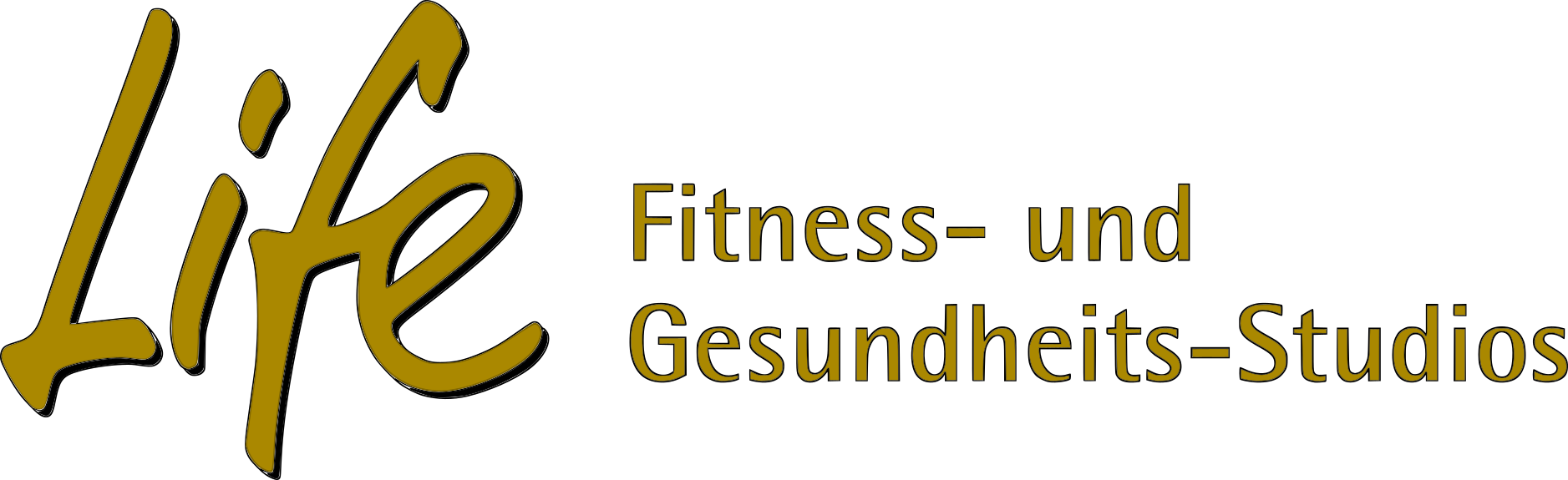 Life Logo Gold