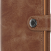 Miniwallet vintage cognac-rust -SECRID