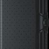 Twinwallet perforated black-