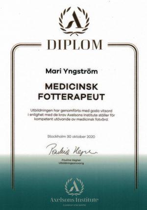 Medicinsk fotterapeut Norrköping
