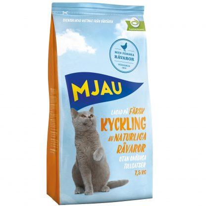 MJAU Kyckling 7,5 kg