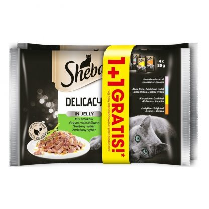 SHEBA Delicacy Mix menu in Jelly 8-pack