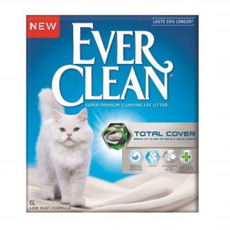 Ever Clean Total Cover 6L super premium clumping cat litter