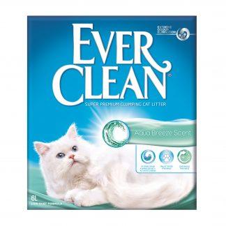Ever Clean Aqua Breeze Scent 6L super premium clumping cat litter