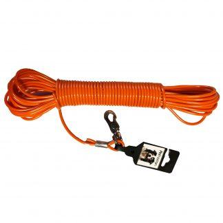 PetNation Spårlina gjuten Orange 15m 4mm