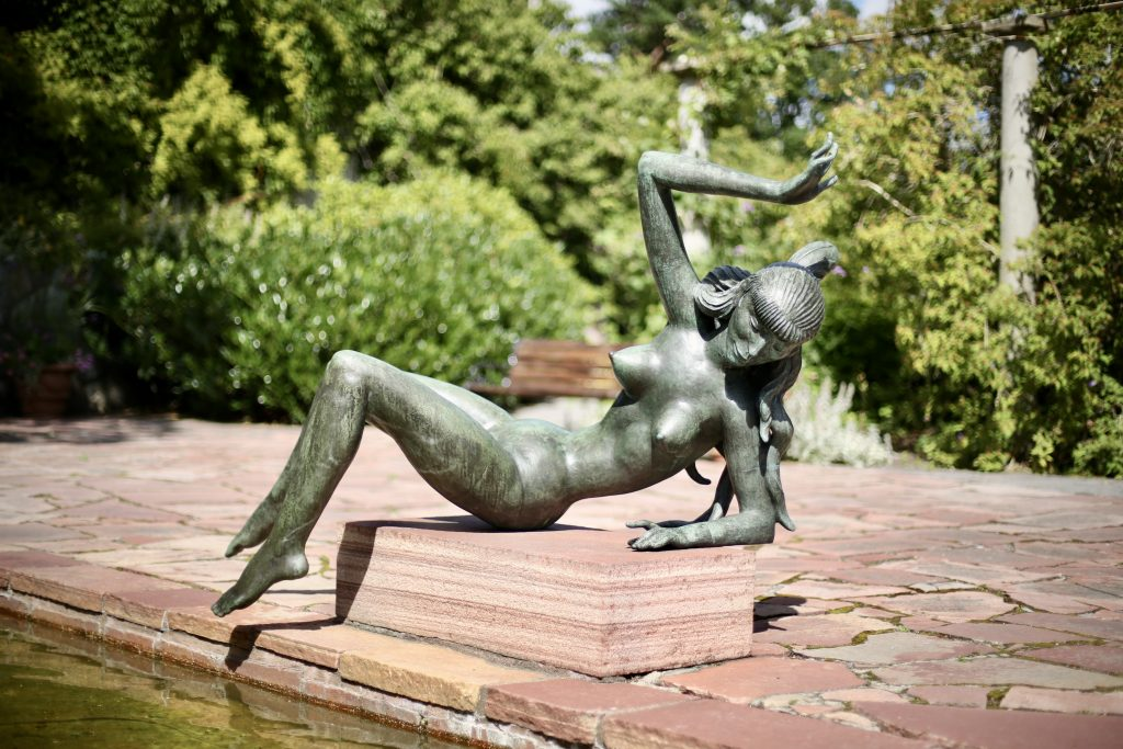The Water Nymph at Millesgården sculpture park, Lidingö, Sweden. Photo by Mihaela Limberea. www.limberea.com