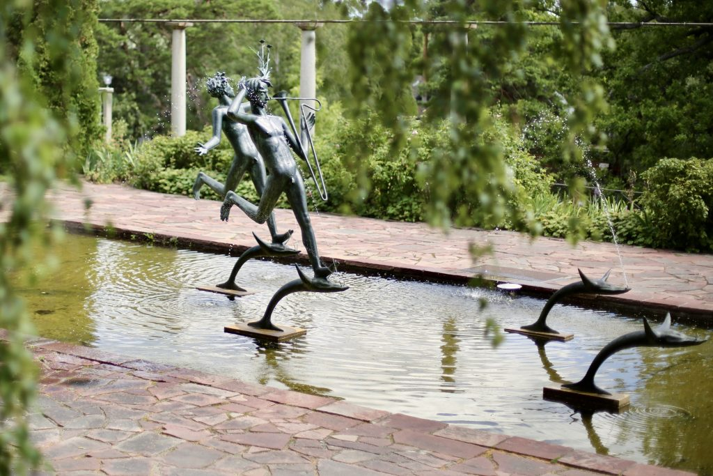 The Aganippe Fountain at Millesgården sculpture park, Lidingö, Sweden. Photo by Mihaela Limberea. www.limberea.com