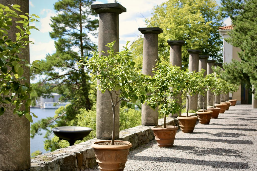 The Middle Terrace, Millesgården sculpture park, Lidingö, Sweden. Photo by Mihaela Limberea. www.limberea.com