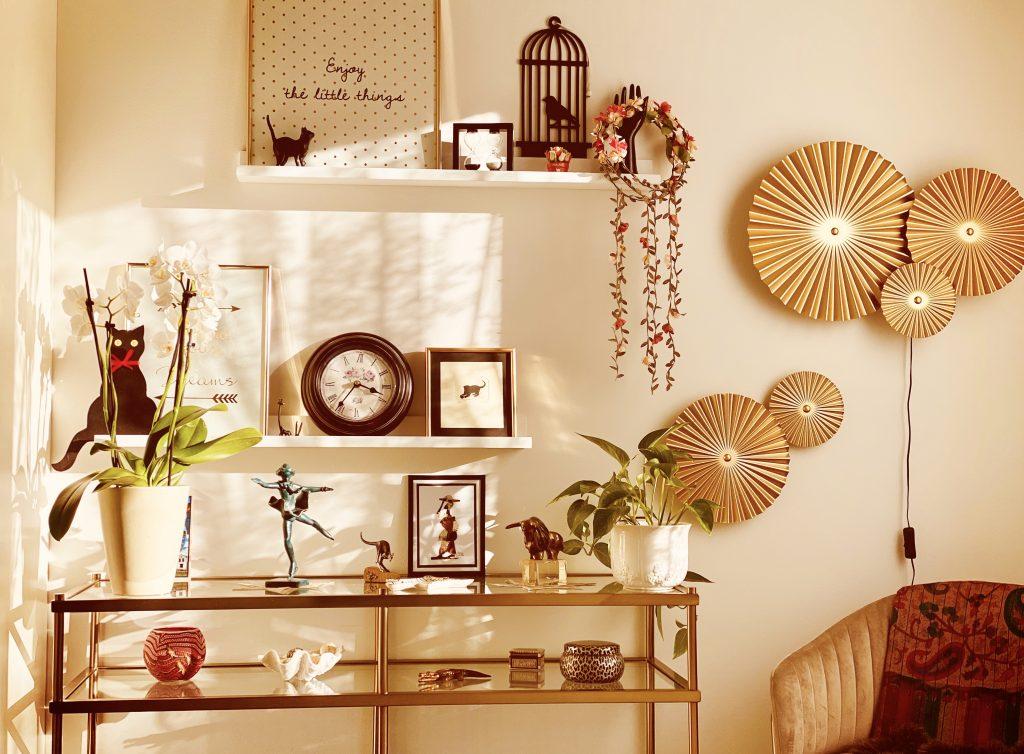 A sunny room