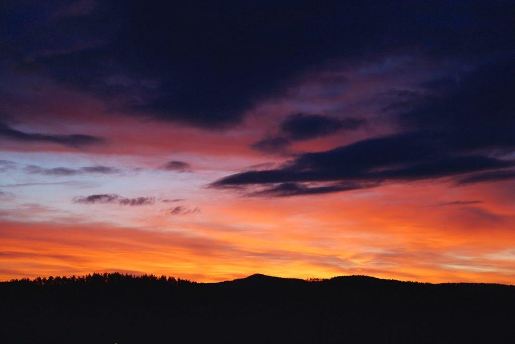 Sunset colors, photo by Mihaela Limberea.