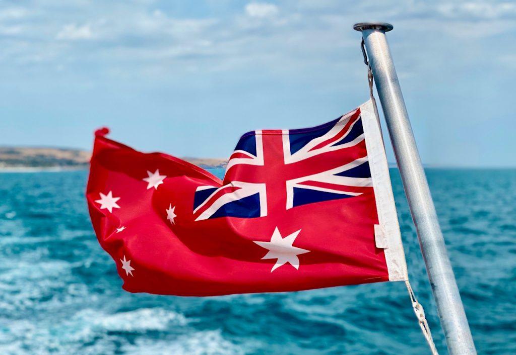 The flag of Australia. Photo by Mihaela Limberea