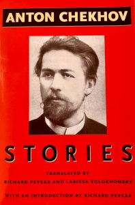 Book Cover of Anton Chekhov Stories. Photo by Mihaela Limberea