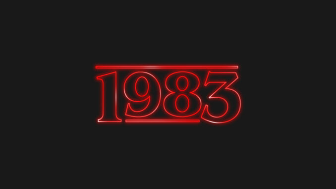 CHAPTER ONE – 1983