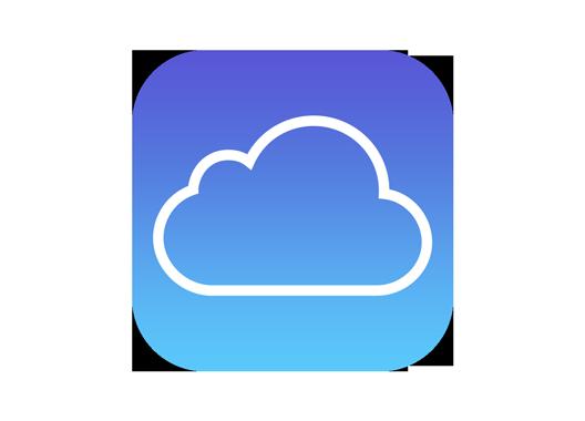 Logo för ICloud