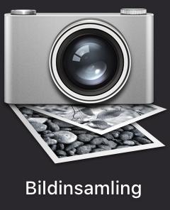 Ikonen för programmet Bildinsamling i macOS.