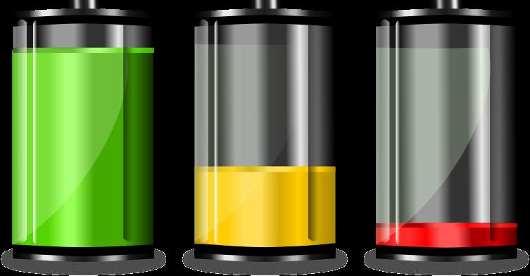 Batterinivåer