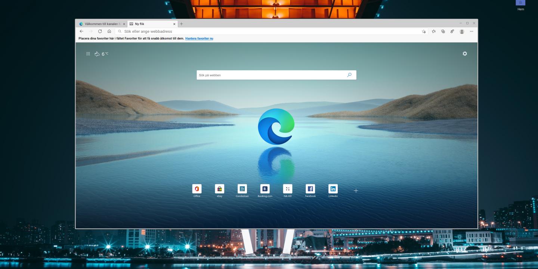 Edge för Linux
