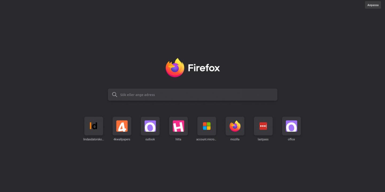 Mozilla Firefox 89