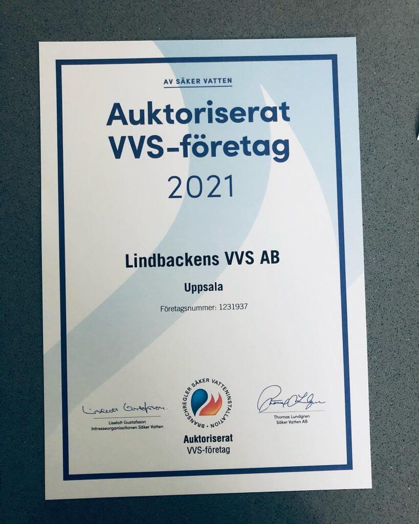 Lindbackens VVS AB