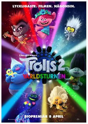 Trolls 2: Världsturné
