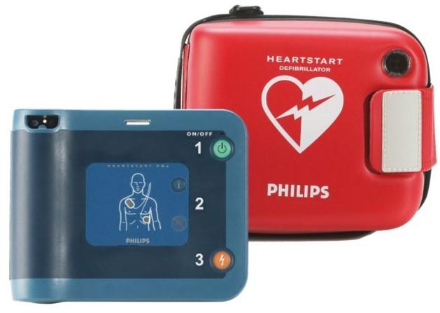 Hjärtstartare med väska